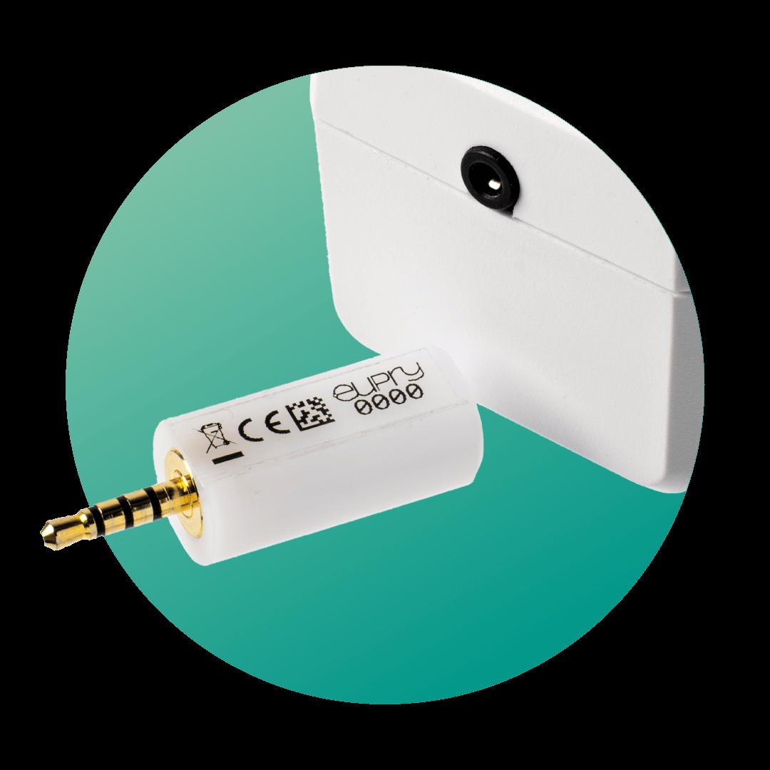 Temperature sensor for Temperature Monitoring Device - Eupry